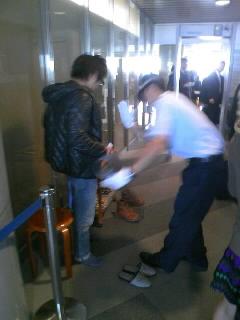 空港にて…その2